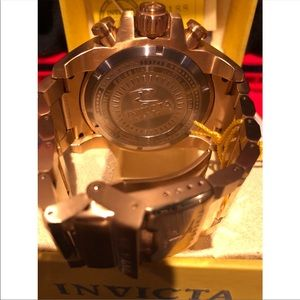 Invicta Accessories - INVICTA RESERVE SWISS WATCH - GOLD/ROSE/PEARL